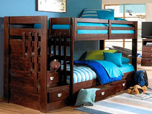 Oak Furniture West bunk bed